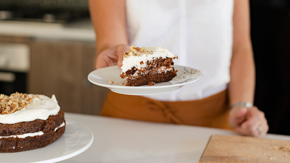 gluten free and dairy free carrot cake recipe